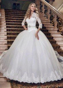 Пышное свадебное платье от Евы Уткиной