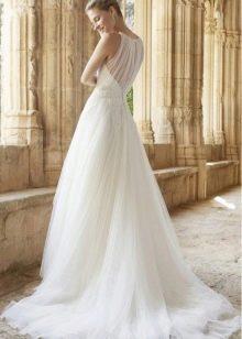 Свадебное платье от Raimon Bundo из шифона