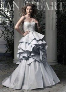Свадебное платье от Ian Stuart многоярусное
