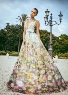 Свадебное платье от Alessandro Angelozzi цветное