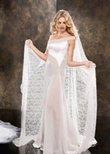 Свадебное платье от Alessandro Angelozzi прямое