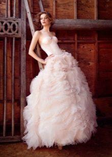 Lazaro свадебное платье пышное
