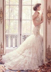Свадебное платье от Lazaro русалка