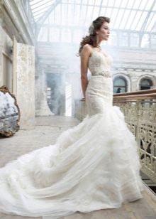 Русалка Свадебное платье от Lazaro