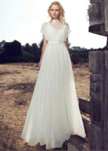 Свадебное платье от Рики Далал закрытое
