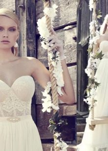 Свадебное платье от дизайнера Рики Далал
