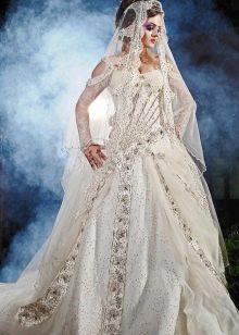 Свадебное платье от дизайнера Dar Sara