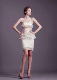 Свадебное платье с акцентом на талию