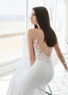 Свадебное платье с иллюзией обнаженного тело от Джули Вино
