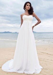 Свадебное платье ампир для летней свадьбы