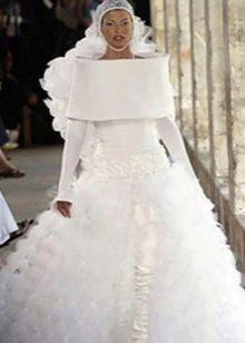 Свадебное платье уродливое