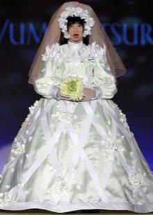 Свадебное платье пышное уродливое