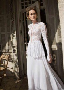 Свадебное платье в стиле 40-х