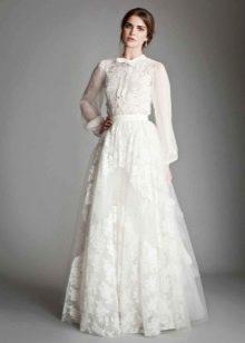 Свадебное платье-рубашка