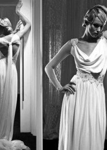 Isabel Zapardiez свадебное платье греческое