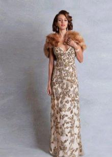 Свадебное платье ажурное винтажное