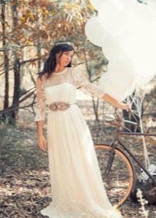 Свадебное платье ретро-стиль