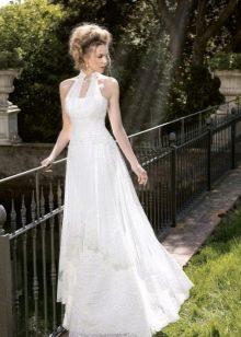 Свадебное платье кружевное ретро