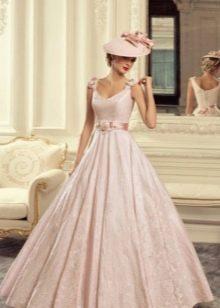 Свадебное платье в стиле 60-х годдов