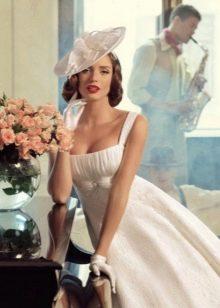 Свадебное платье с квадратным вырезом от Tatiana Kaplun