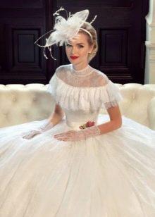Свадебное пышное ретро платье от Tatiana Kaplun