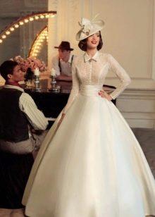 Свадебное платье от Tatiana Kaplun в ретро стиле