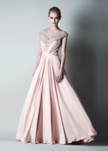 Вечернее платье бежевое от Проновиас