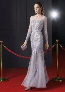 Вечернее платье от Rosa Clara в пол