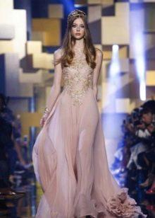 Вечернее платье от Elie Saab розовое