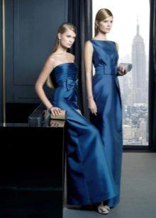 Вечернее платье от Rosa Clara синее