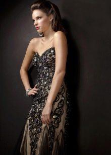 вечернее платье от Джовани со стразами