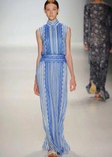 Вечернее платье от Tadashi Shoji голубое
