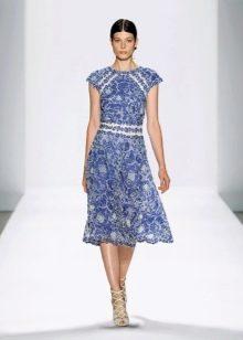 Вечернее платье от Tadashi Shoji с принтом