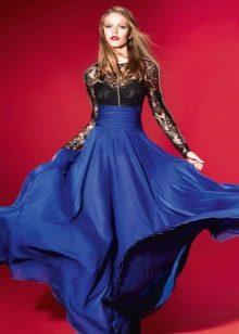 Вечернее платье от Yolan cris ампир