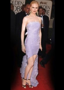 Лавандовое платье вечернее Николь Кидман