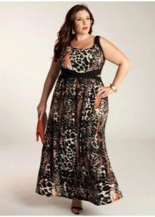 Летнее платье сарафан для полных