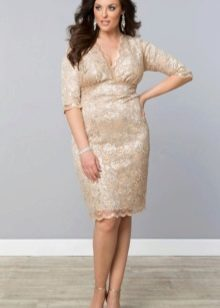 Вечернее платье от Kyionna кружевное