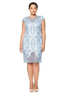 Вечернее платье от Tadashi Shoji кружевное