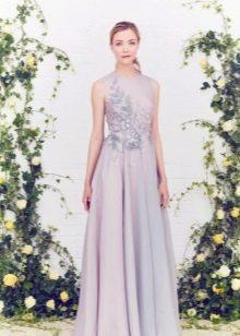 Вечернее платье с гипюром от Jenny Packham