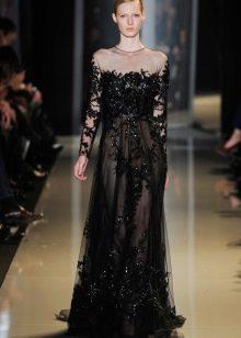 Вечернее платье от дизайнера Эли Сааб
