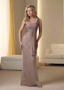 Вечерне платье для мамы невесты в греческом стиле