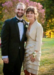 Вечернее платье для мамы жениха