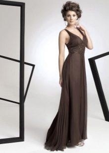 Вечернее платье в стиле ампир для мам жениха