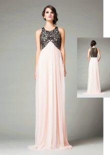 Вечернее платье из шифона гречское