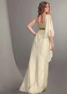 Вечернее гореческое платье с рукавом