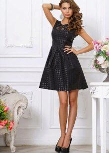 Короткое платье черное вечернее