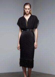 Платье шифоновое вечернее от Донна Каран