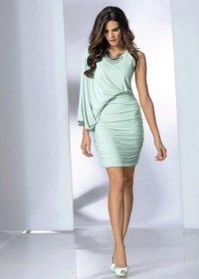 Вечернее платье с широким рукавом дешевое