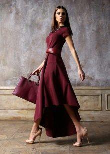 Дешевое вечернее платье с асимметричным низом