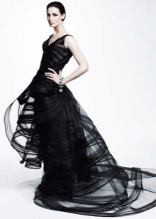 Вечернее платье от Zac Posen из шифона